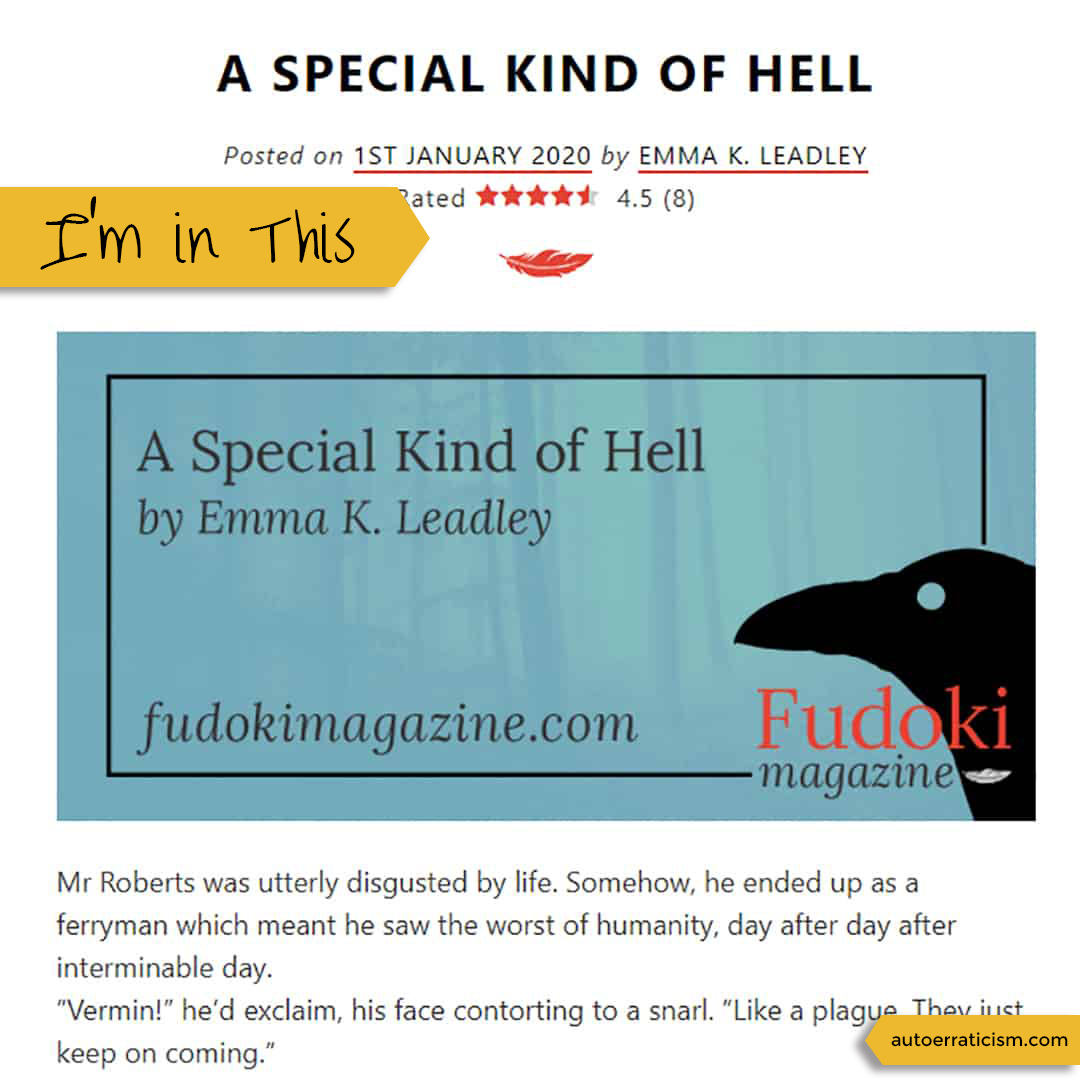 A Special Kind of Hell, published by Fudoki Magazine